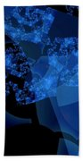 Bioluminescence Beach Towel
