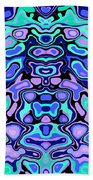 Biomorphic #1 Beach Towel