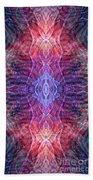 Biomorphic Syntax  Beach Towel