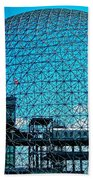 Biosphere Montreal Beach Towel