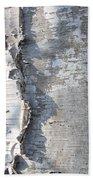 Birch Abstract 2 Beach Towel