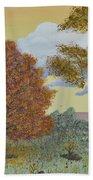 Birch And Oak Frienship Beach Towel