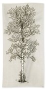 Birch Tree Beach Towel by Charles Harden