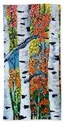 Birch Tree's Beach Towel