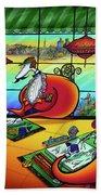 Bird Artists Beach Sheet