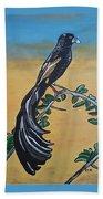 Bird Of Beauty, Ngiculela Beach Towel