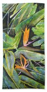 Bird Of Paradise 2 Beach Towel