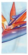 Bird Of Paradise IIi Beach Towel