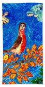 Bird People Robin Beach Sheet