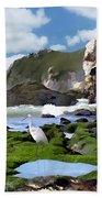 Bird's Eye View Beach Sheet