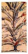 Birds In A Tree Beach Towel