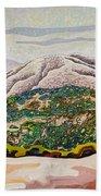 Birdseye Landscape #4 Beach Towel
