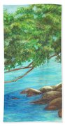 Biscayne Bay Beach Towel