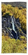 Bishop Creek Falls Beach Towel
