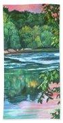 Bisset Park Rapids Beach Towel