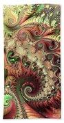 Bisymmetric Spiral Spring Beach Towel