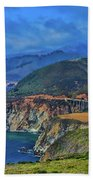 Bixby Bridge 1 Beach Towel