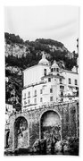 Black And White Amalfi Beach Towel