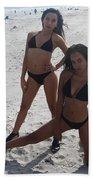 Black Bikinis 13 Beach Towel