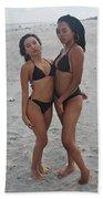 Black Bikinis 20 Beach Towel