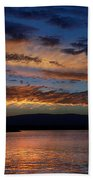 Black Butte Sunset Beach Towel