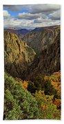 Black Canyon Of The Gunnison - Colorful Colorado - Landscape Beach Towel