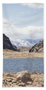 Black Canyon View - Pathfinder Reservoir - Wyoming Beach Towel