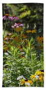 The Field Of Flowers  Beach Towel