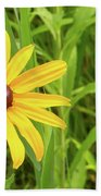 Black Eyed Susan V Beach Towel