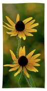 Black Eyed Susans 3276 H_2 Beach Towel