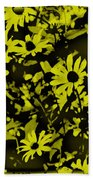 Black Eyed Susan's Beach Towel