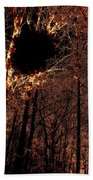 Black Hole Sun Beach Towel