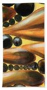 Mediterranean Olive Reverie.. Beach Towel