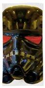 Black Stormtrooper - Pa Beach Towel