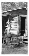 Blacksmith And Tool Shed Beach Towel