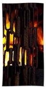 Blacksmiths Furnace Beach Towel