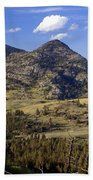 Blacktail Road Landscape 2 Beach Towel by Marty Koch