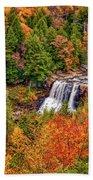Blackwater Falls Wv Beach Towel