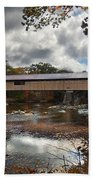 Blair Covered Bridge Beach Towel