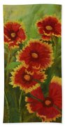 Blanket Flowers Beach Towel