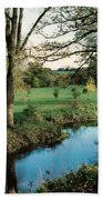 Blarney Castle Grounds Beach Towel