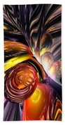 Blaze Abstract Beach Towel