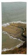 Blea Wyke Steel - Ravenscar Beach Towel