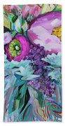 Blessings Come From Raindrops Beach Towel