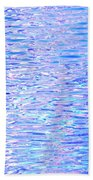 Blissful Blue Ocean Beach Towel