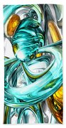 Blissfulness Abstract Beach Towel