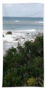 Block Island Sea Shore Beach Towel