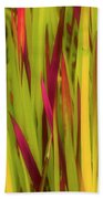 Blood Grass Beach Towel