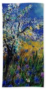 Blooming Appletree Beach Towel
