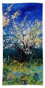 Blooming Appletrees 56 Beach Towel